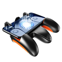 For Pubg Controller Mobile Game Shooter Pubg Trigger Fire Button For IPhone Android Phone Gamepad Joystick Cooling Cooler Fan pubg mobile game controller gamepad trigger aim button sp shooter joystick for iphone android phone with cooler cooling fan