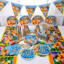 Disney Winnie The Pooh Theme Party Supplies Birthday Decorations Winnie The Pooh Baby Shower Party Bags Cup Plate Banner Straws