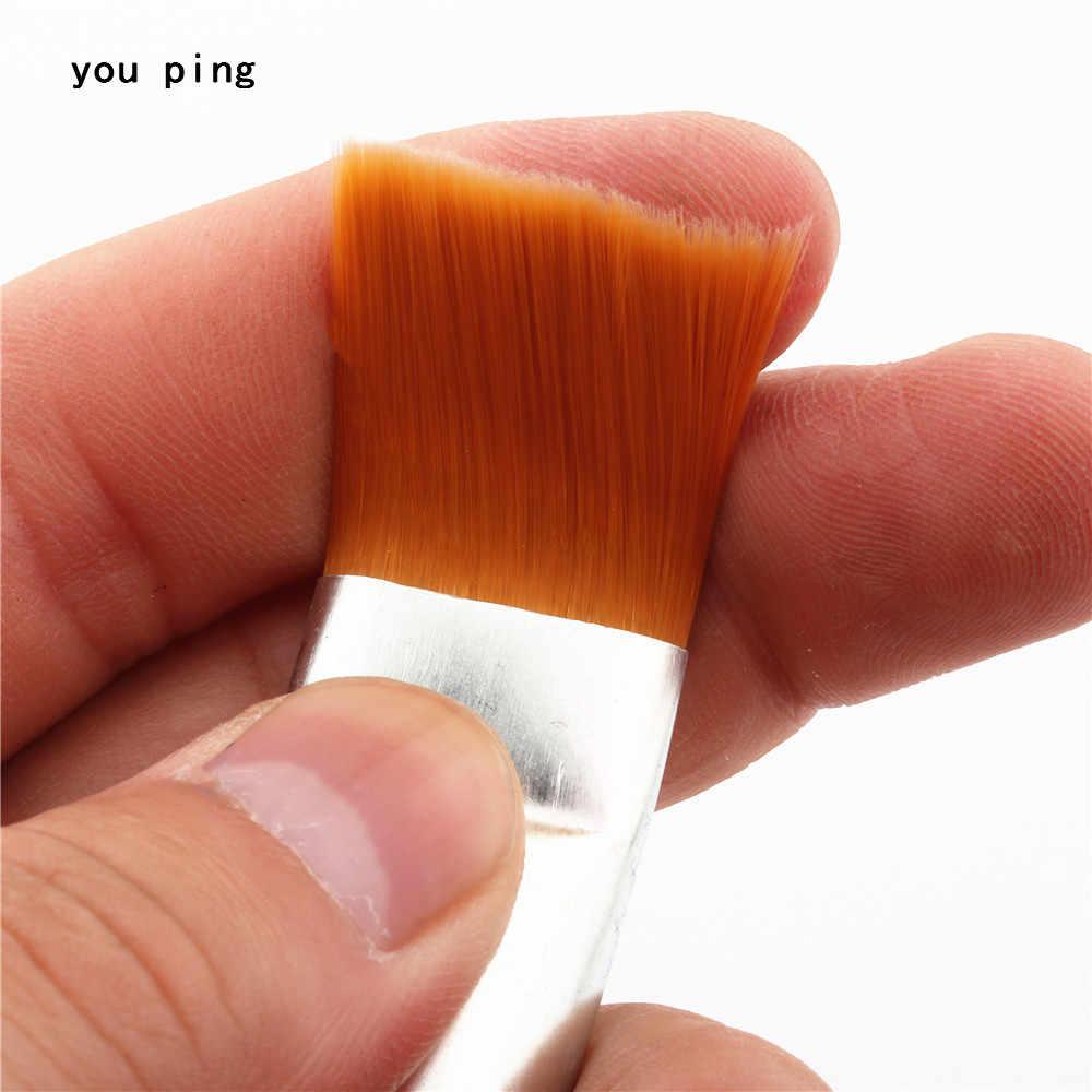 Hecho en China 12 Número de pinceles de pintura de nailon de acuarela pincel de aceite de pintura marcador de bolígrafo escuela estudiante arte suministros nuevo