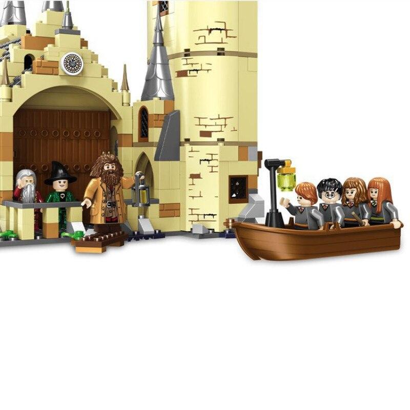 16060 модель замка из фильма, Волшебная модель замка, 6742 шт., строительные блоки, кирпичи, игрушки, детский подарок, совместимы с legoinglys city 71043 - 2