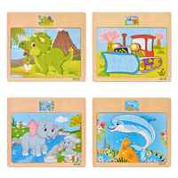 Children's Toys Jigsaw 3d Puzzle Stereo Intelligence Development Boys and Girls Wooden Early Childhood Toys Educational Toys