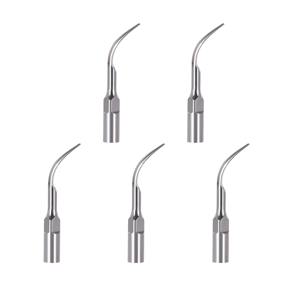 New 5pc G1,G2,G3,G4,P1,P3 Dental Scaler Tips Fit EMS Woodpecker Ultrasonic Scaler Handpiece Dental Ultrasonic Scaler Scaling Tip
