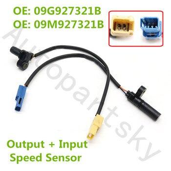 09G927321B Transmission Trans VSS Vehicle Speed Sensor And Input Speed Sensor For Audi VW 09M927321B