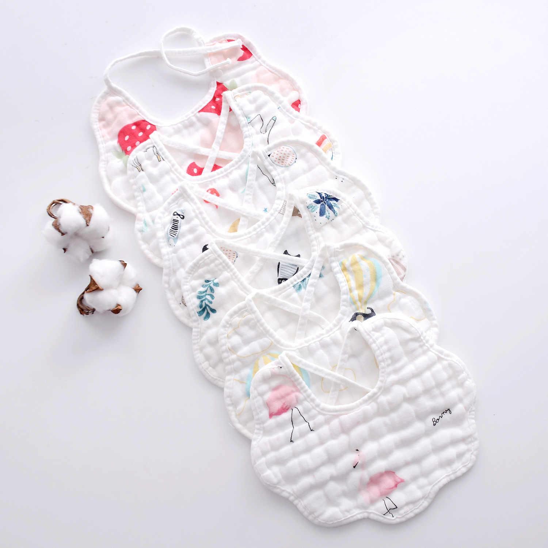 Amazon gorąca sprzedaż śliniak dziecięcy dzieci czyste usta smycz ręcznik miękka bawełna produkt do kąpieli na prysznic dziecięcy drukuj opieka nad noworodkami