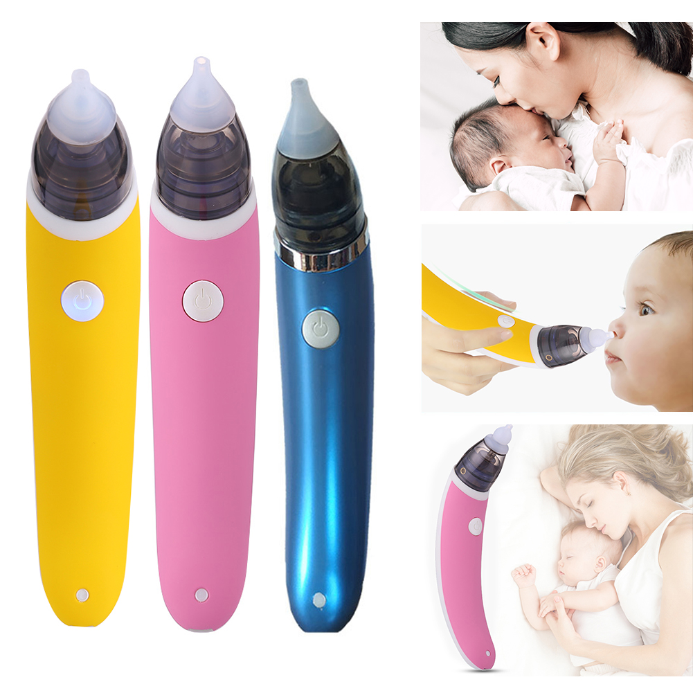 Safe Hygienic Nose Snot Cleaner Baby Nasal Aspirator Nose Cleaner Sucker Tool Newborn Care Sniffling Equipment