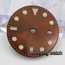Часы мужские стерильные с циферблатом, 28,5 мм, подходит для ETA 2836 2824 MINGZHU dg2813 DG3804,Miyota 82