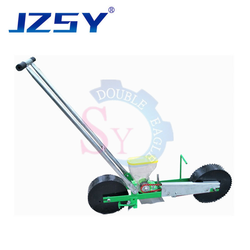 Agricultural portable hand push vegetable small seed planter seeding machine/manual spinach celery lettuce seeder sowing machine