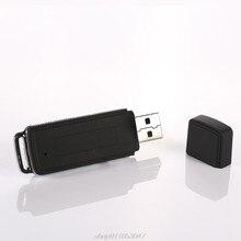 8GB Wiederaufladbare Mini USB-Stick Aufnahme Diktiergerät 70Hr Digital Voice Recorder Tragbare N26 20 Dropshipping