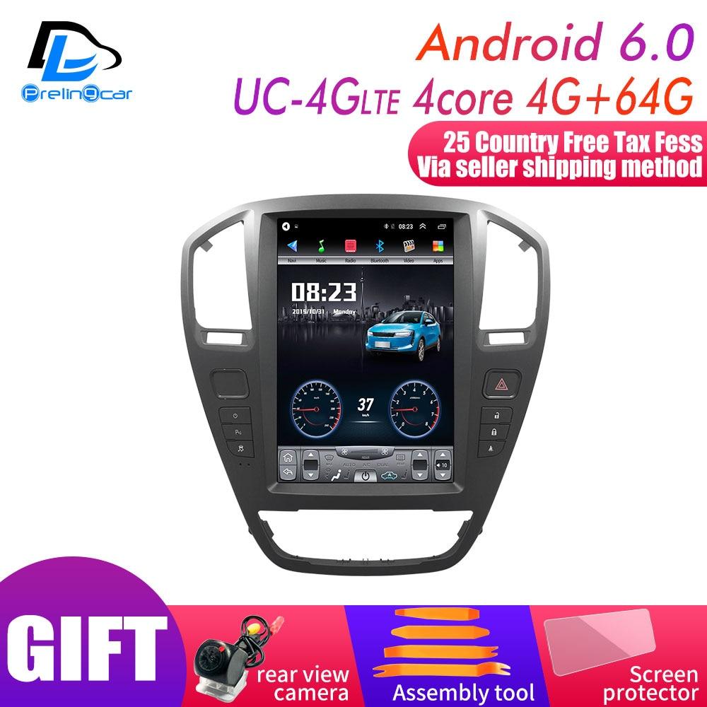 12,8 дюймов 4G Lte вертикальный экран android Мультимедиа Видео Радио плеер для Opel старый Insignia 2009 2013 лет Навигация стерео
