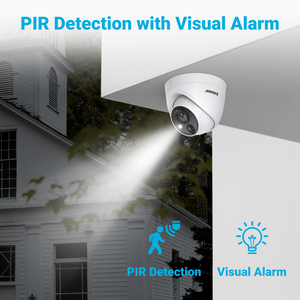 Image 4 - ANNKE 5MP Lite Security Camera System H.265+ DVR Surveillance with 8pcs 5MP PIR Outdoor Cameras IP67 Weatherproof Security Kit