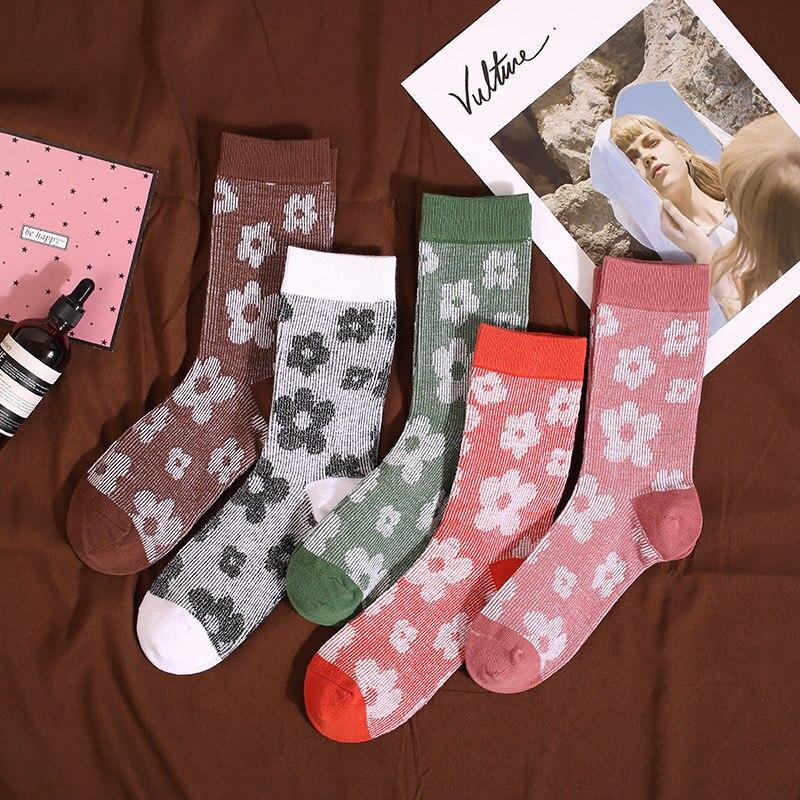 Модные женские носки роскошная женская обувь с высоким голенищем; Натуральный хлопок для девочек уличная спортивная одежда на каждый день, ...