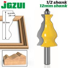 "Large Elegant Picture Frame Molding Router Bit   1/2"" Shank 12mm shank  JGZUI"