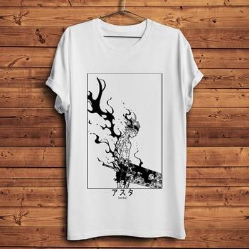 Japan manga Asta funny anime tshirt men summer new white short sleeve casual homme t shirt unisex streetwear tee - discount item  51% OFF Tops & Tees