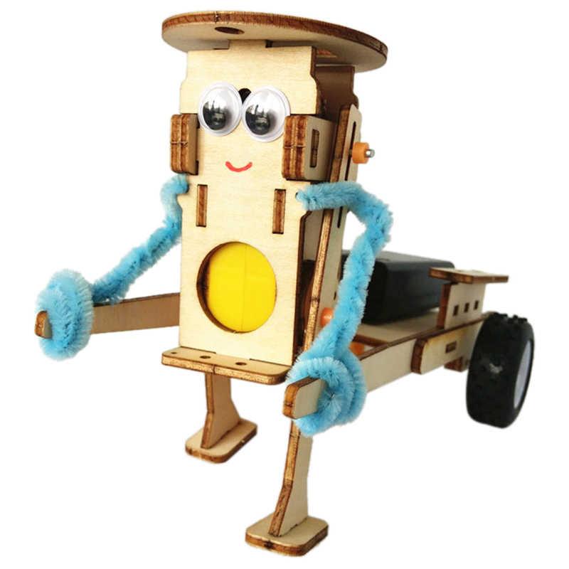 DIY технологичные устройства тянет робот строительный Набор Дети научный эксперимент образование забавная физическая игрушка Обучающие наборы