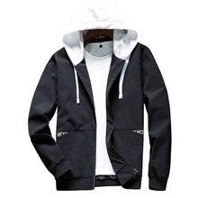 Paragraph Lang Legendary new hooded jacket men, scratch print men clashing colors, hip hop streetwear 2019  autumn