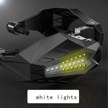 Moto guardamanos protectores de mano para motocicleta, LED Protector para HONDA PCX 2019 VTR 250 CB400 SF Valquiria 1500 BMW F650 GS F 650 GS