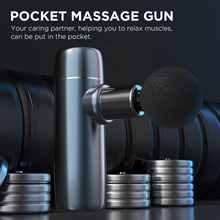 Booster Mini QS Massage Gun Muscle Relaxation High Frequency Fascia Machine Fitness Shaping Pain Relief