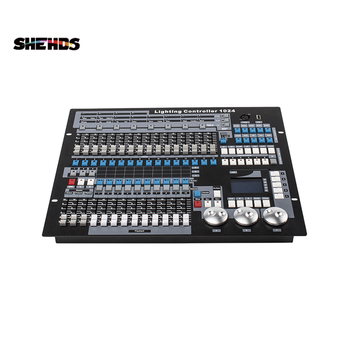 Free Ship192/30/1024/384/768/240A DMX Console With Stage Effect By DMX Controler For Moving Heading /Par Light Apply To DJ Disco