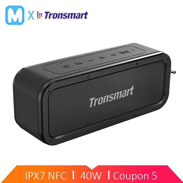 Tronsmart Element Force Bluetooth haut-parleur Portable sans fil haut-parleur pour téléphones avec NFC mic IPX7 étanche 40W mini haut-parleur