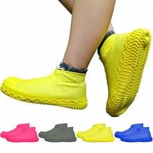Непромокаемый чехол для обуви из 2 предметов; большие размеры; Лидер продаж; противоскользящие многоразовые латексные бахилы; водонепроницаемые резиновые сапоги; обувь из прочного силикона