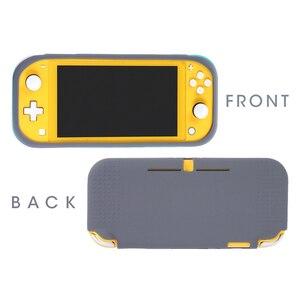 Image 3 - Für Nintend Schalter Lite Silikon Schutz fall Für nintend schalter mini shell Abdeckung mit screen protector film