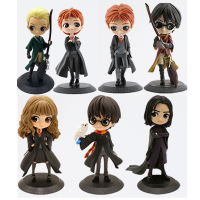 QPosket Harry Ron Snape Granger Draco Malfoy Newt Harry Weasley PVC Action Figure Christmas Toy Doll Gift