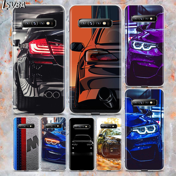 Silicone Cover Sports Car for Bmw For Samsung Galaxy Note 20 Ultra 10 lite 9 8 S10 5G S9 S8 S7 S6 Edge Plus Phone Case image