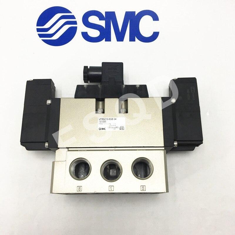 VFR5210 5DZ 04 VFR5210 5DZ 06 SMC 5 Port Pilot Operated Solenoid Valve Rubber Seal VFR VFR5000 series Pneumatic components