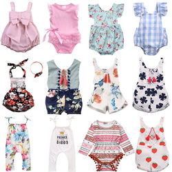 10 видов стилей с цветочным принтом; Детский комбинезон для новорожденных, для маленьких девочек детская одежда с длинными рукавами, спортив...
