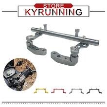 For YAMAHA NMAX 155 2018-2020 NMAX 125 XMAX 300 Motorcycle Mutifunctional Cross Bar Steering Damper balance lever