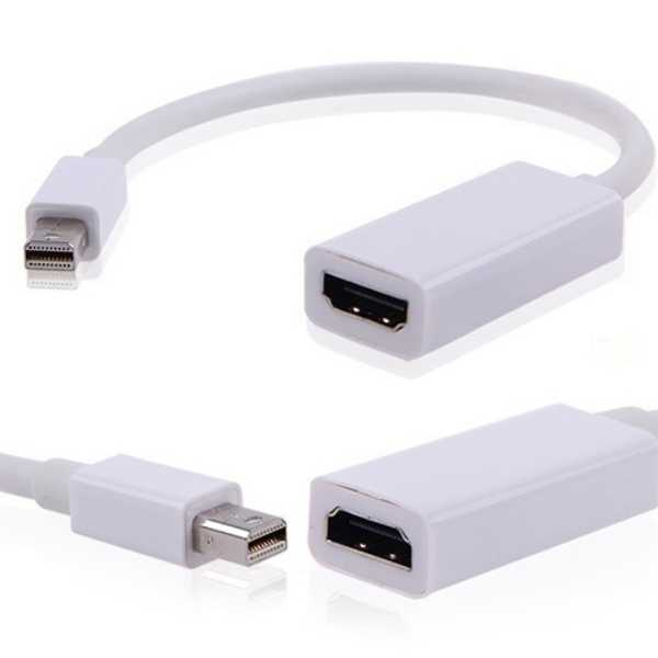 عالية الجودة جهاز ذو مدخل صغير للعرض موانئ دبي إلى HDMI كابل محول ل ماك