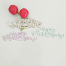 Happy wedding decoration newlywed metal cutting die lace background frame paper-cut paper cutter blade stamping