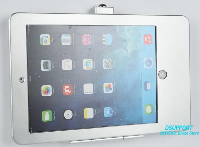 Soporte de pared para tableta y PC, diseño antirrobo con cerradura de seguridad, funda adecuada para ipad air 1, 2, ipad pro 9,7, ipad 2017, ipad 5
