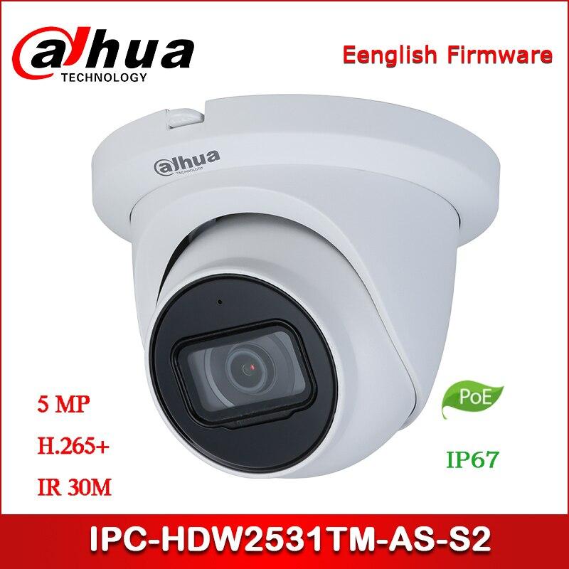 Dahua 5MP 2.7~13.5mm PoE IR  IP67 Eyeball Network Camera H.265 IPC-HDW2531R-ZS