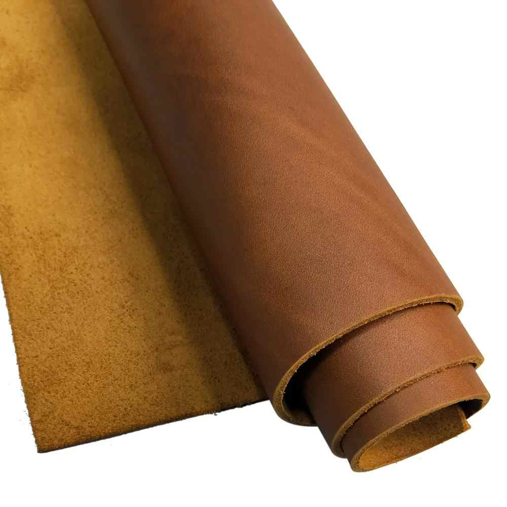 Crazy Horse кожа 1,8 мм Толщина полная текстурная настоящая коровья кожа первой Слои Материал DIY Ручная кожаная фурнитура