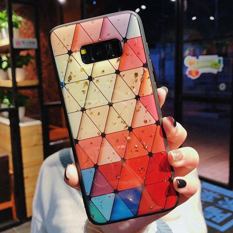 Bling Gold Foil Marble Stone Crack Silicon Case For Huawei P30 Pro P20 Lite P10 Plus Soft Squishy Phone Case Nova 5 5i 4 4E 3i 3