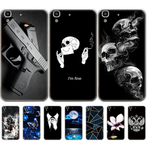 Honor 4A Case For huawei y6 2015 Case Silicone TPU Cute Back Cover Phone Case On for Huawei Y6 2015 Case Soft bumper coque etui