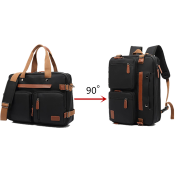 New Backpack 17.3 inch Hand Laptop Backpack Outdoor Business Backpack Travel Backpack Shoulder Diagonal Bag Waterproof Backpack 2018 new oiwas laptop business backpack lightweight waterproof traval backpack solid color two colors for male bag