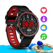 L8 Smart Watch Men IP68 Waterproof Mode SmartWatch With ECG PPG Blood Pressure Heart Rate Sports Fitness Watches(China)