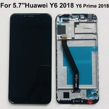 Original 5.7 For Huawei Y6 2018 Y6 Prime 2018 ATU LX1 / ATU L21 ATU L31 LCD Display +Touch Screen Digitizer Assembly +frame