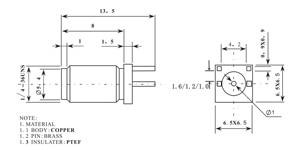 Image 5 - 100 шт. гнездовой разъем SMA 1,6 мм 1,2 мм 1,0 мм расстояние по краям паяльной печатной платы прямое Крепление RF разъем позолоченный