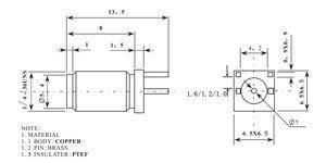 Image 5 - 100PCS SMA נקבה ג ק 1.6mm 1.2mm 1.0mm מרווח קצה הלחמה PCB ישר הר RF מחבר זהב מצופה