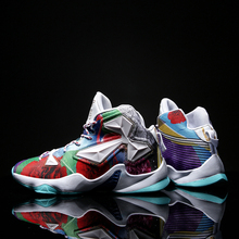 Basketball Shoes Men Sports Shoes High Tops Mens Basketball Sneakers Athletics B