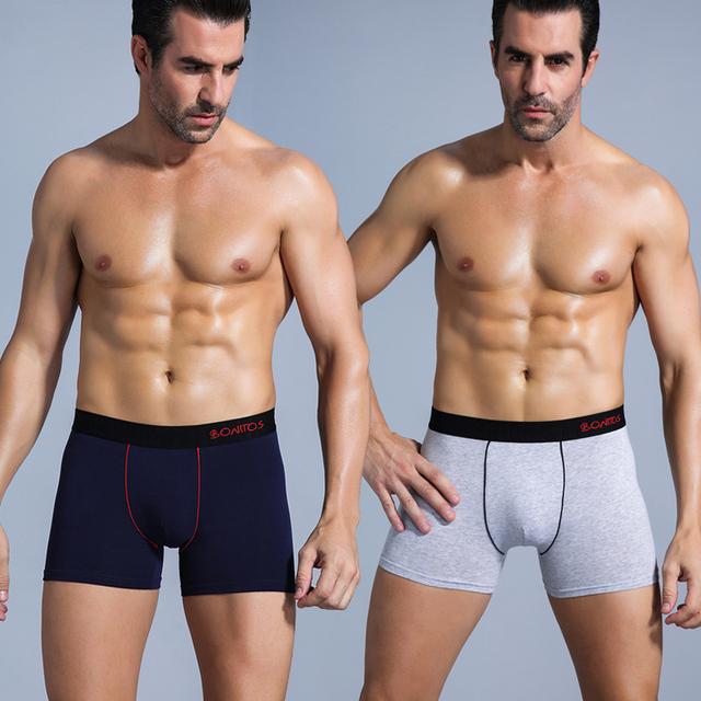 SRBONITOS Boxer Men Underwear Soft Cotton
