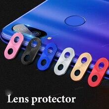 Для Redmi Note 7 Pro Защита объектива камеры алюминиевое кольцо покрытие для Xiaomi Redmi Note 7 8 Pro чехол для камеры защита кольца