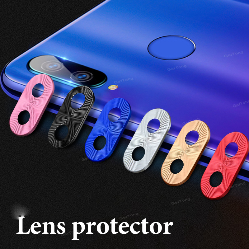 For Redmi Note 7 Pro Camera Lens Protector Ring Plating Aluminum For Xiaomi Redmi Note 7 8 Pro Camera Case Cover Ring Protection