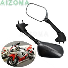 Rétroviseurs latéraux de moto en Fiber de carbone, 1 paire, droit et gauche, pour Yamaha YZF-R1 YZFR1 2002 2003