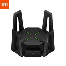 Xiaomi AX9000 Router Tri Kanalen WIFI6 Verbeterde Versie Quad Core Cpu 1Gb Ram 4K Qam 12 high Gain Antennes Mesh E Sport Router