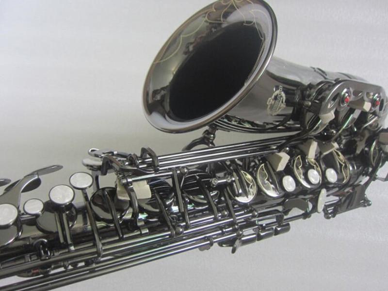 Suzuki ZK 323 New all Black Nickel Alto saxophone professional Musical Instruments saxophone Tone E Sax