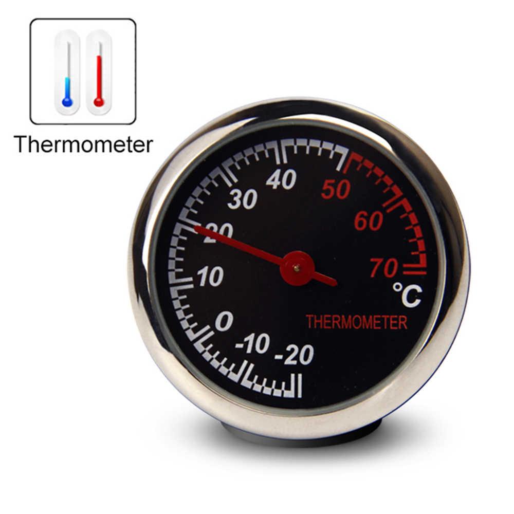 Ornamentos Relógio Relógio Auto Aberturas de Saída de Ar do carro Clipe de Mini Decoração Relógio de Tempo de Exibição Do Painel Automotivo Em Acessórios Do Carro